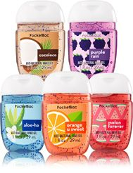 Tropic Boost 5 Pack Pocketbac Sanitizers Soap Sanitizer Bath