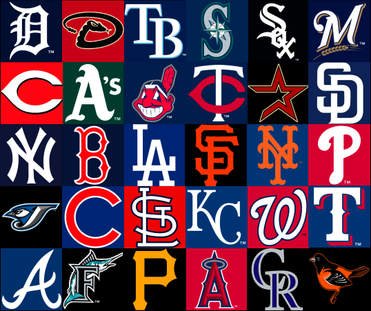 All Team Of The Seasons: Someday I Will See All 30 MLB Teams Play In Their Home