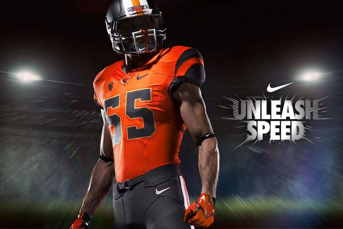 Oregon State New Uniform Football Football Uniforms College Football Uniforms