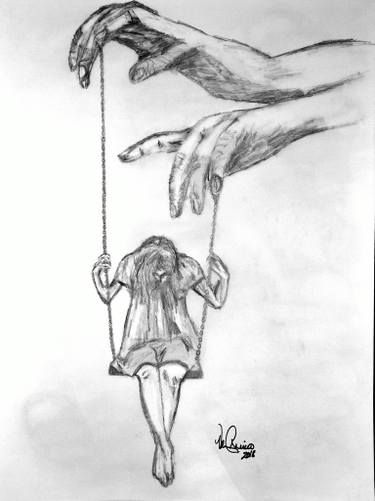 The Puppeteer Cool Art Drawings Meaningful Drawings Dark Art Drawings