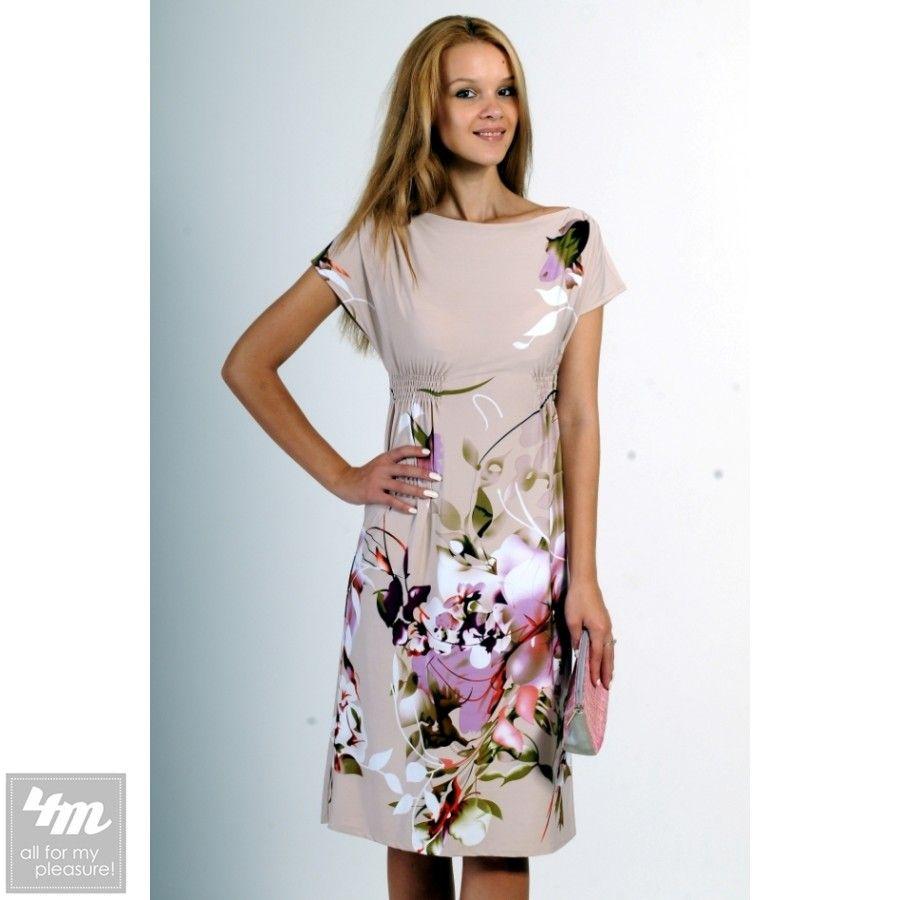 Платье RiMari «Орхидея» (Бежевый) http://lnk.al/3n7G  Материал :трикотаж «масло» высокого качества.