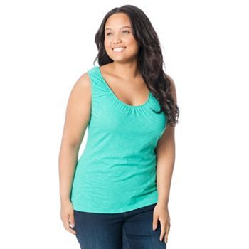 Oh Baby by Motherhood™ Solid Nursing Tank - Plus Size Maternity