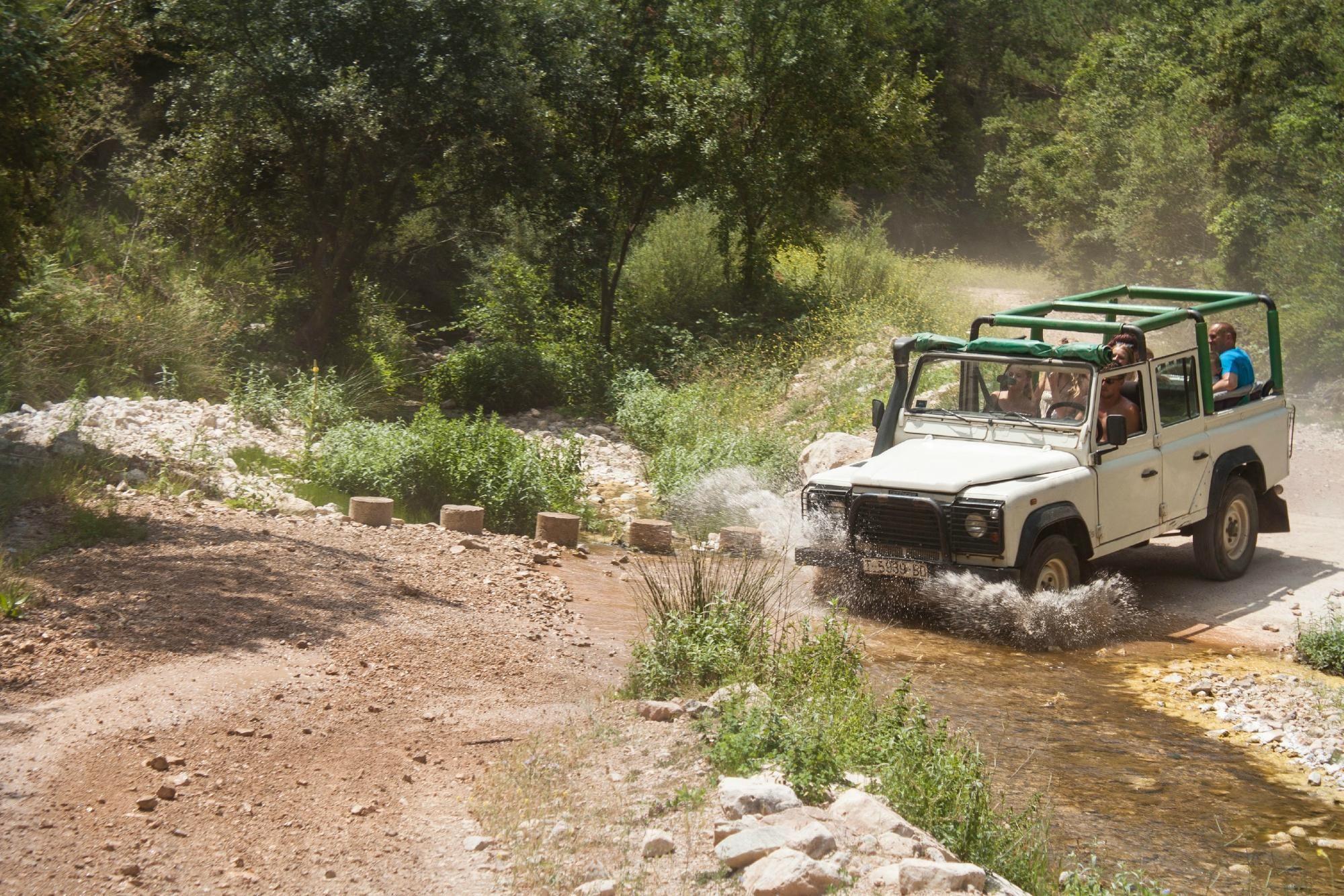 Jeep Aventure Jeep Safari Cambrils Spain