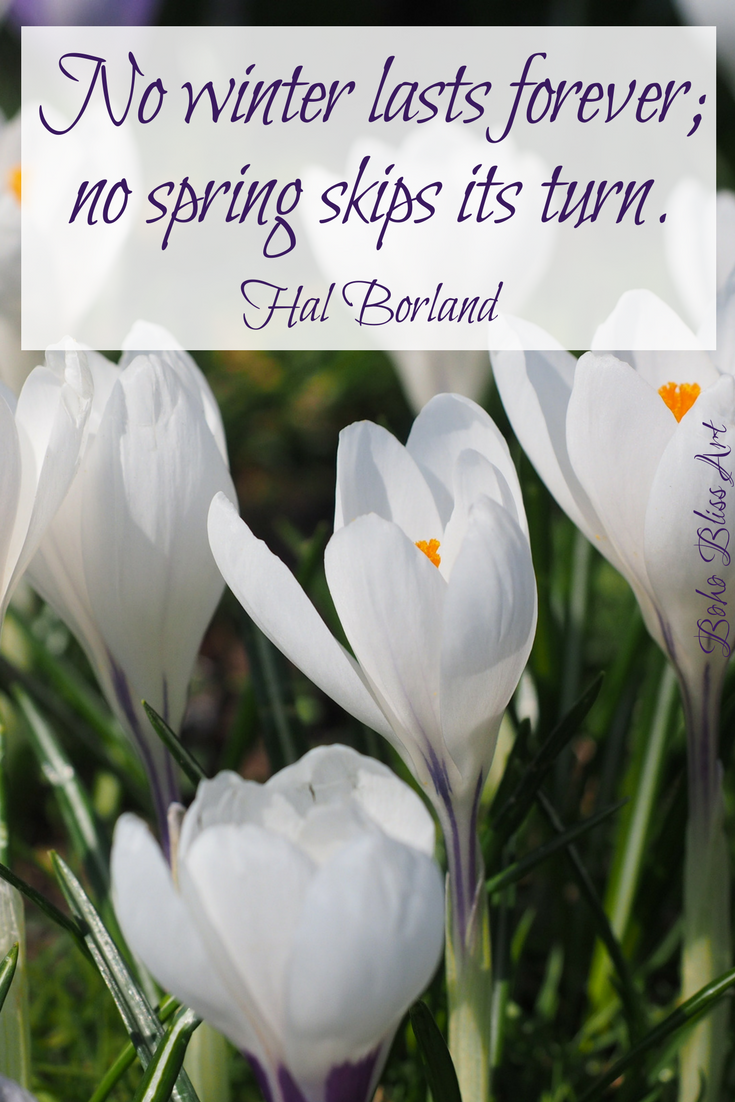 Spring nature is singing flowers pinterest spring nature no winter lasts forever no spring skips its turn quote by hal borland quotes about the beauty of spring spring nature quotes flowers izmirmasajfo