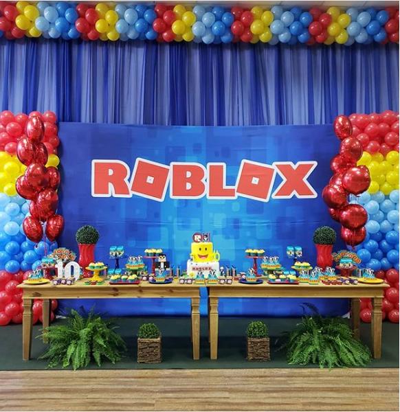 12 Ideas Para Tu Fiesta Tematica Roblox Emoji Birthday Party