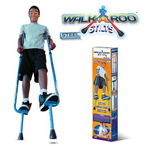 WALKAROO Original Balance Stilts by Air Kicks (Steel) by Geospace. $57.90. From the Manufacturer                Children and adults have enjoyed stilts for centuries. Perhaps it's the instant boost in height, or the physical challenge of balancing and walking or the outrageous fun. Whatever the reason, stilts are the perennial favorite around the world. Now we've taken the basic stilt design and made it a whole lot better. Most stilts are simply straight poles with foot...