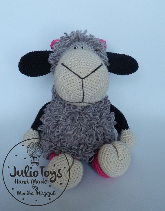 Crochet Sheep like a Jolly Lucy Crochet PDF pattern | Ovejas de ...