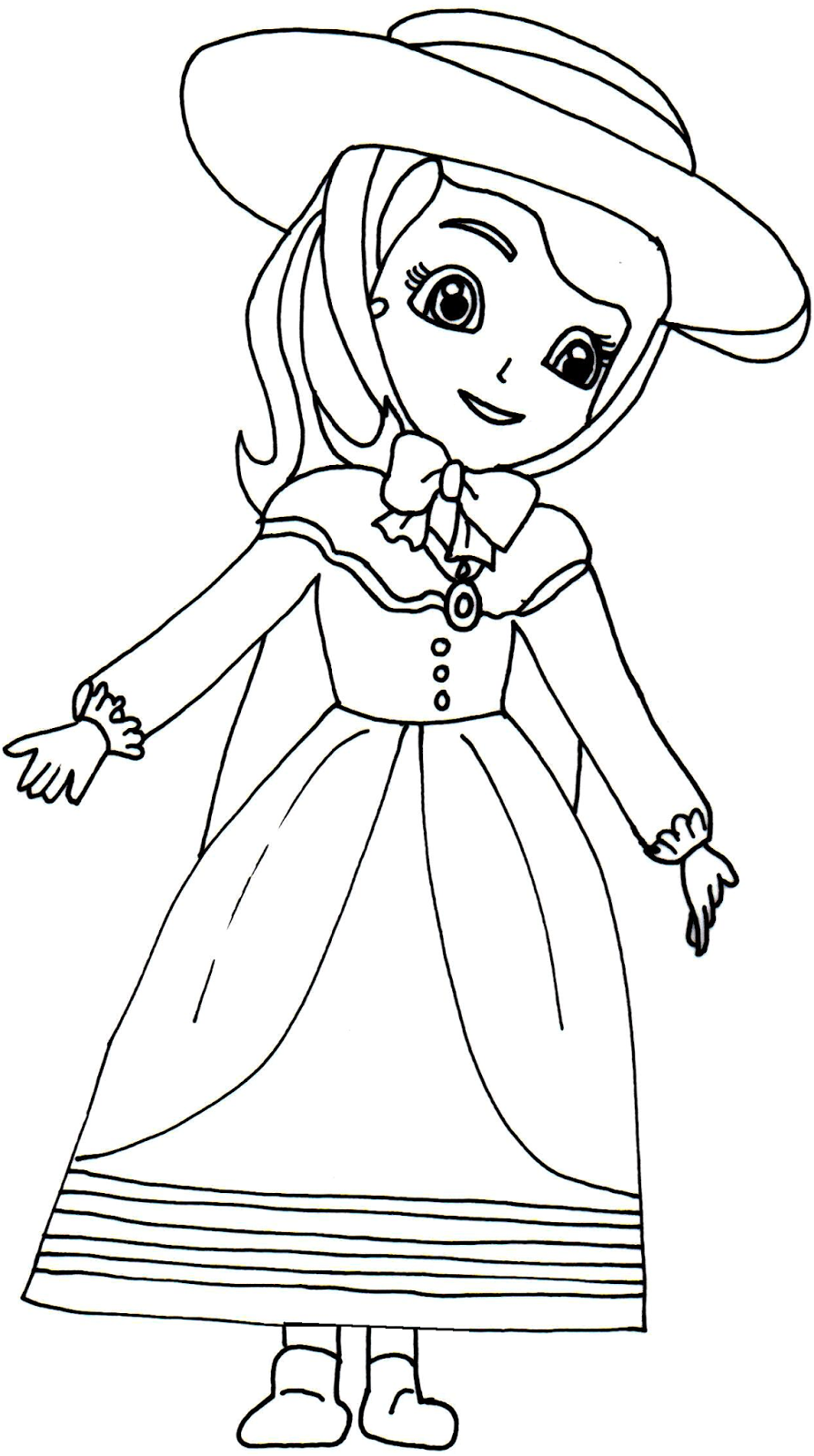 Charmant 6 Sofia The First Printable Coloring Sheets Hispana Global   Sofia The First  Coloring Pages To