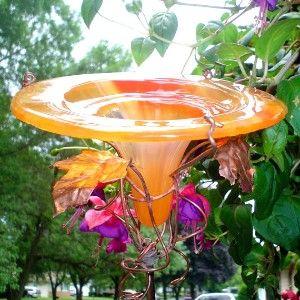 hummingbird feeders for sale orange outdoor hummingbird bird feeder garden decor - Orange Garden Decor
