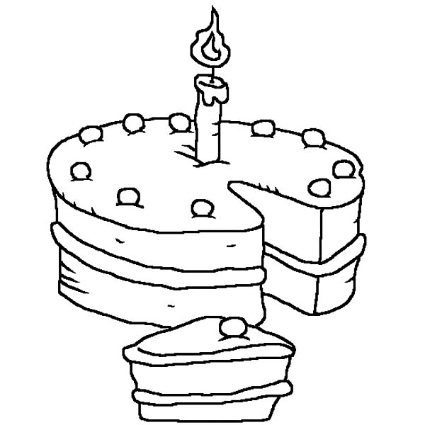 Birthday Candle Coloring Pages For Kids Netart Coloring Pages For Kids Colorful Candles Coloring Pages