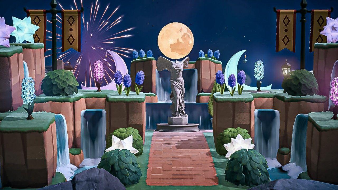 Stunning Fairy Acnh Island Entrance Animal Crossing Wild World Animal Crossing Funny Animal Crossing