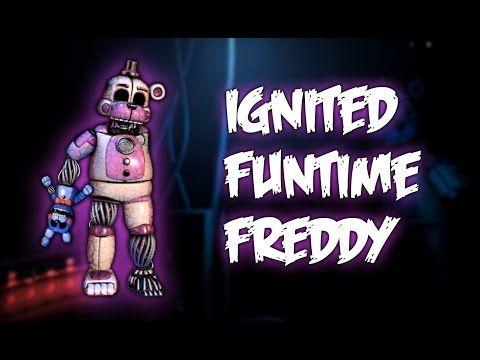 FNAF | Speed Edit] - Making Ignited Funtime Freddy