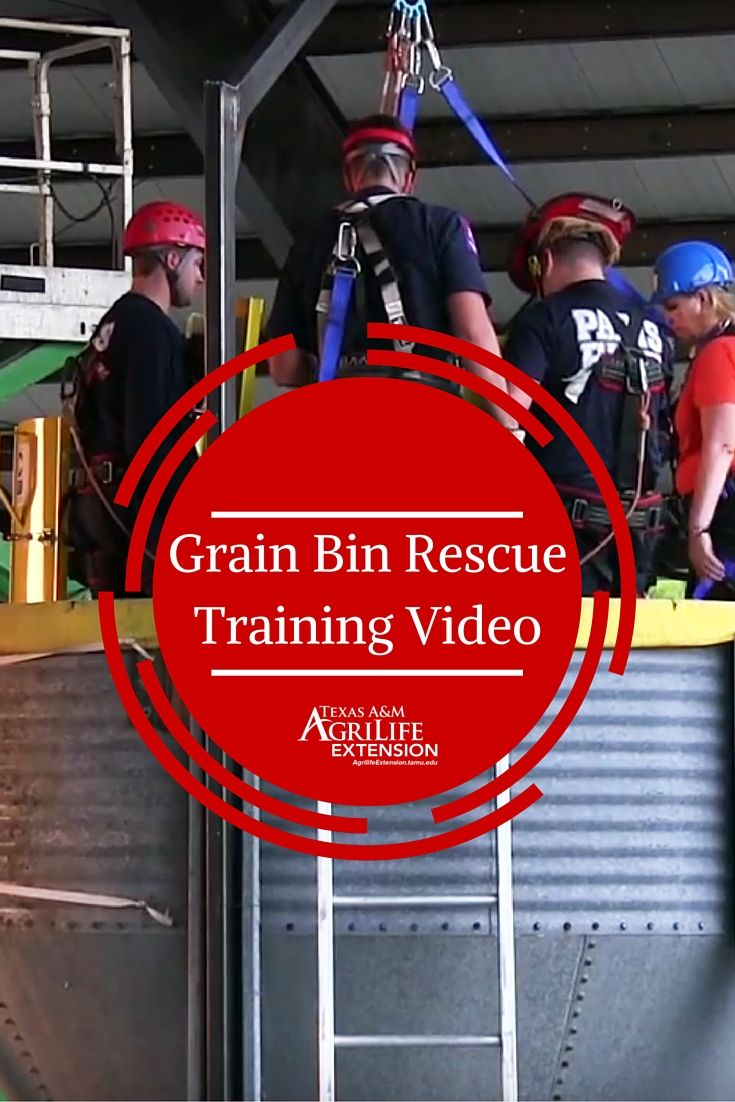 [Video] Grain Bin Rescue Training Video produced by the