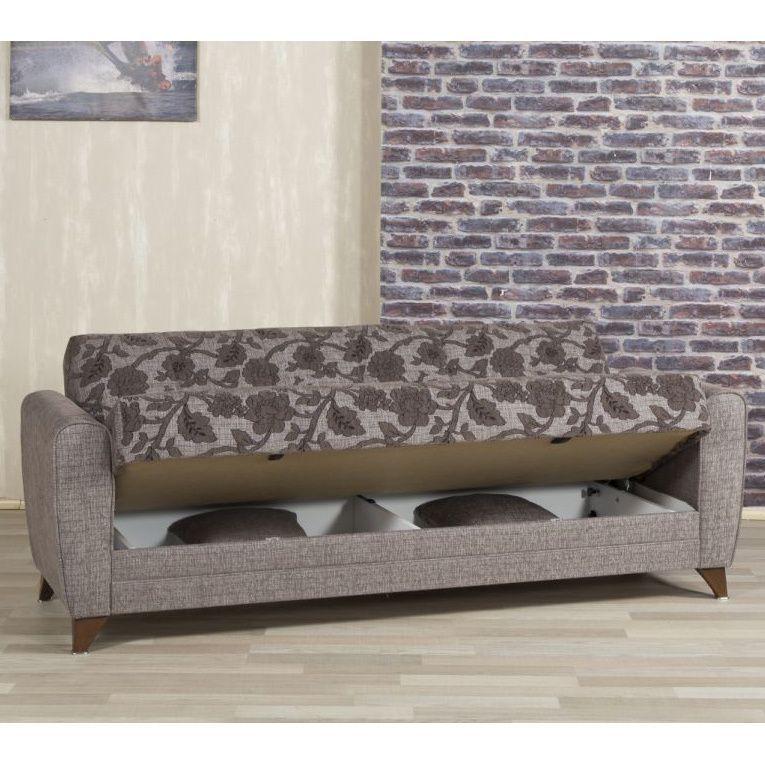 Ottomanson Anatolia Convertible Futon Sofa Bed With Storage