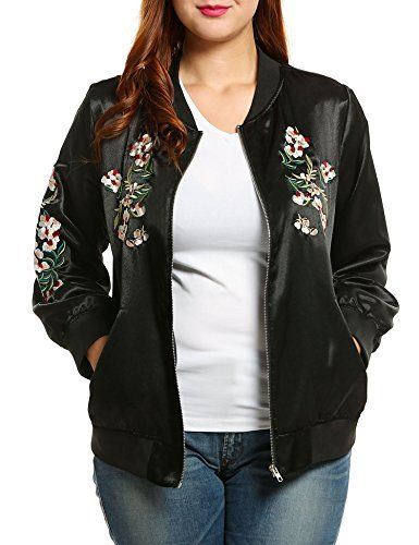 3346aadfc Women's Quilted Lightweight Jackets - Meaneor Womens Plus Size ...