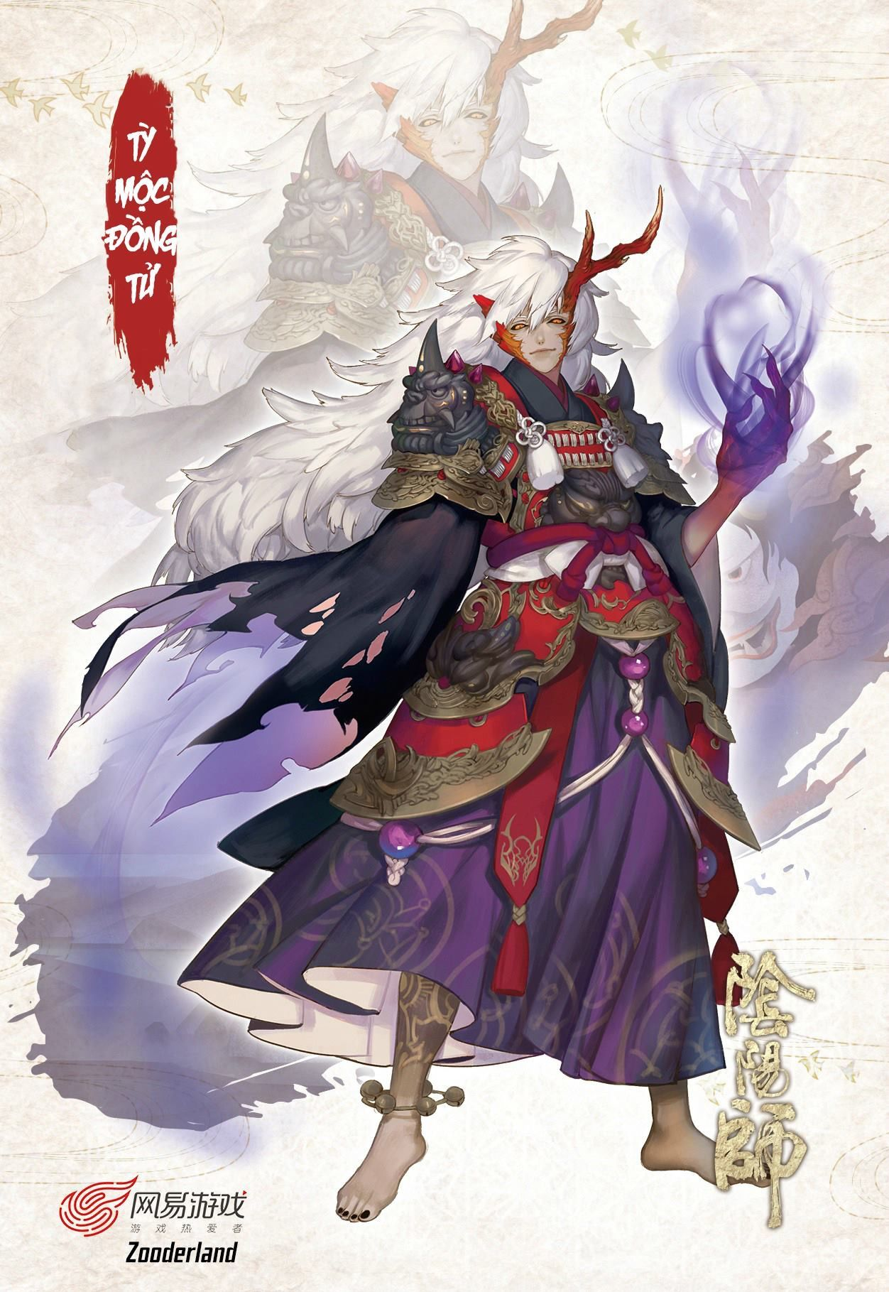 Oni mage Character design, Character design animation