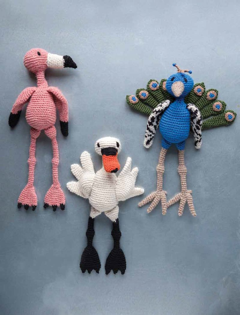 Edwards Menagerie Birds By Kerry Lord Knitting Crocheting And