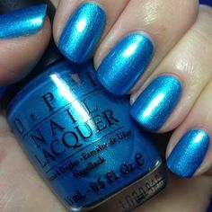 teal cows home opi swatch