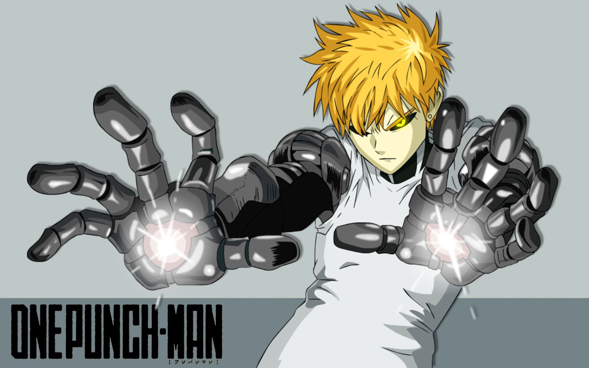 Hd wallpaper one punch man - Genos On Battle One Punch Man Anime Wallpaper Hd 2015