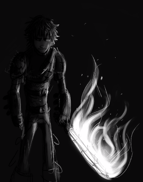 Umm why does Hiccup look slightly evil? | Artworks/ Sketches
