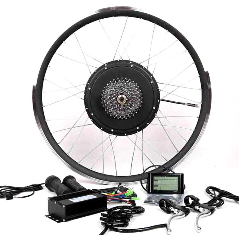 48v1000w Cassette Motor Electric Bike Conversion Kit It Can Work