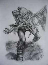 Iron Maiden The Trooper Tattoo Drawing Tattoo Forearm Tattoo Men