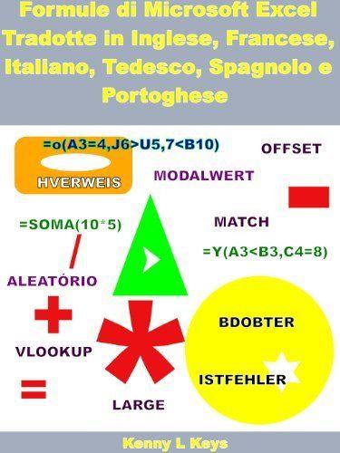 Formule di Microsoft Excel Tradotte in Inglese, Francese, Italiano