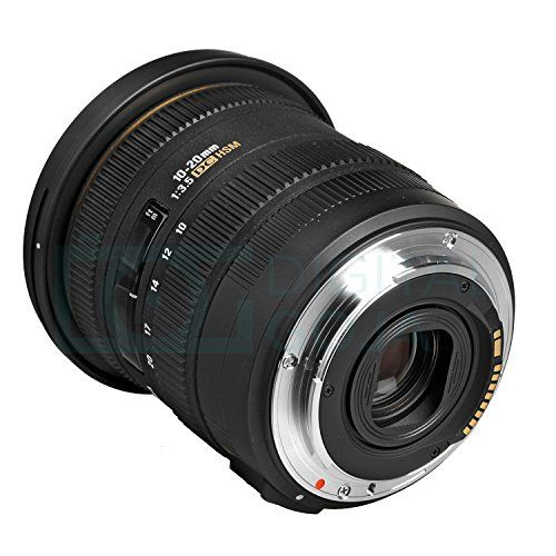 Sigma 10 20mm F 3 5 Ex Dc Hsm Eld Sld Wide Angle Lens For Canon Dslr Cameras W Essential Photo And Travel Bundle Canon Dslr Camera Dslr Camera Sigma