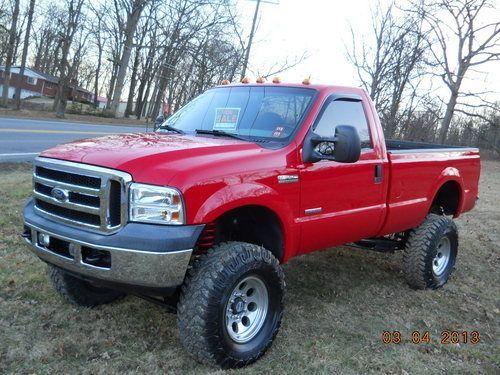 1978 Ford Truck Buy Used 2006 Ford F250 4x4 28k Mi Diesel 8 Lift 37 Tires Like Lifted Ford Trucks Single Cab Trucks Ford Pickup Trucks
