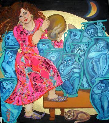 Wassma Alagha Iraqi Artist Folklore Art Eastern Art Arabic Art