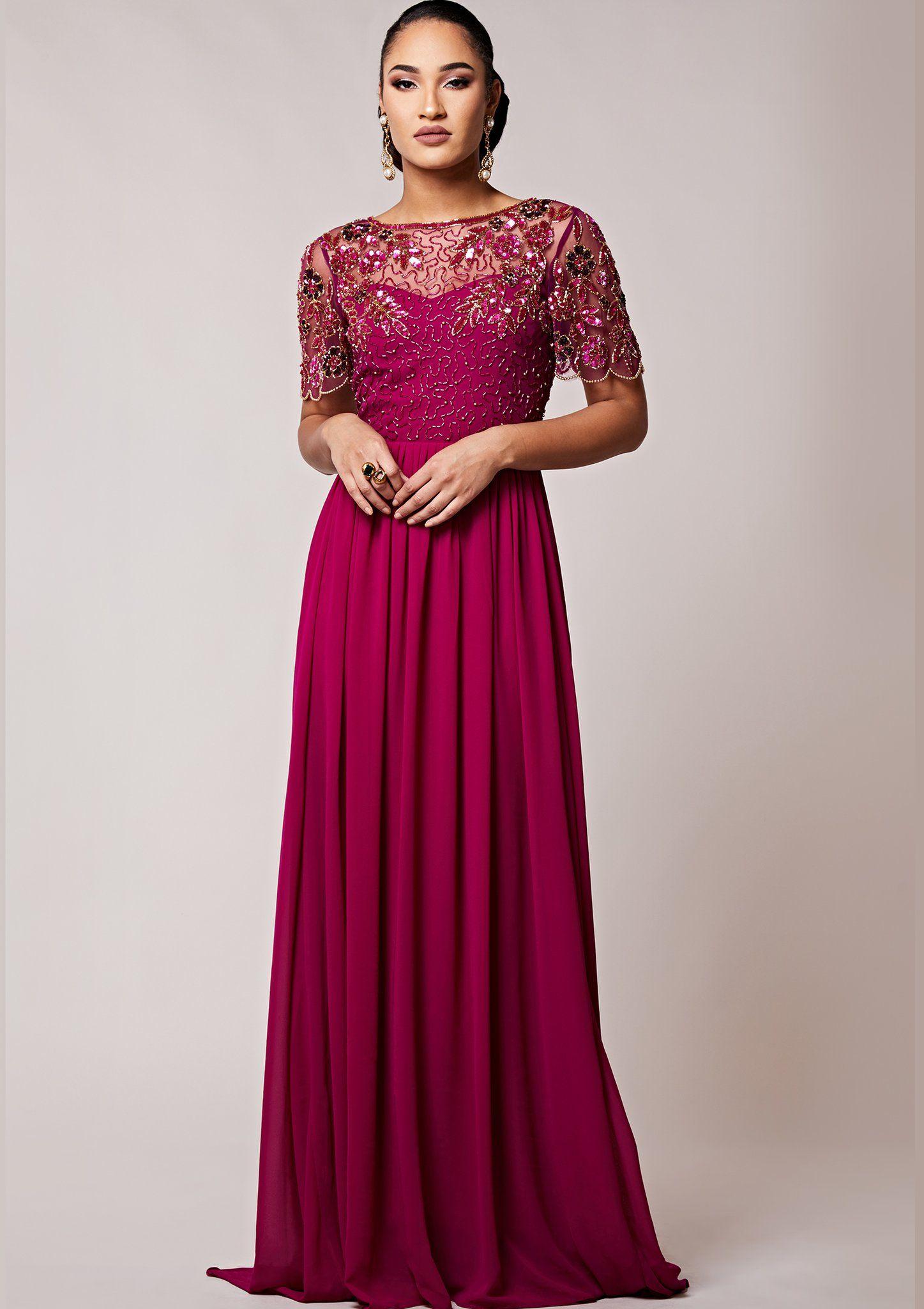 de6838d3f26 Rahaya Dress Berry in 2018