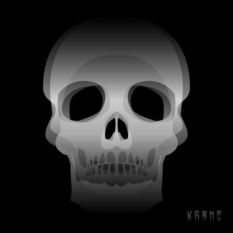 #skull by #krane