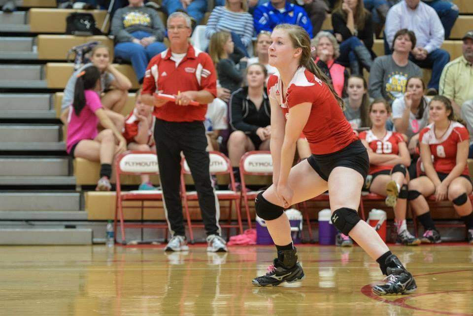 Haley Harrell Was Recently Selected For The Indiana High School Volleyball All Star Game She Will Be Playing For T All Star Team High School Programs Athlete