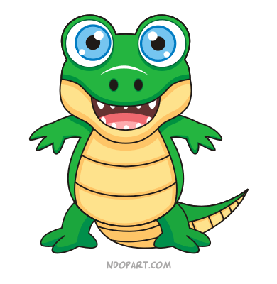 gator animation pictures | Convert Bitmap To Vector ... - photo#42