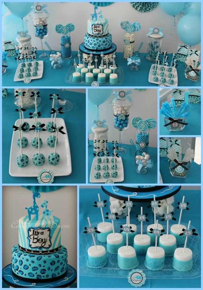 Couture Di Sucre Baby Shower Cakes Toppers Boy Baby Shower