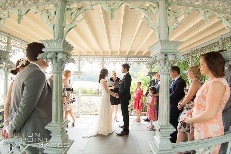 Ladies Pavilion wedding ceremony idea for Central Park bride