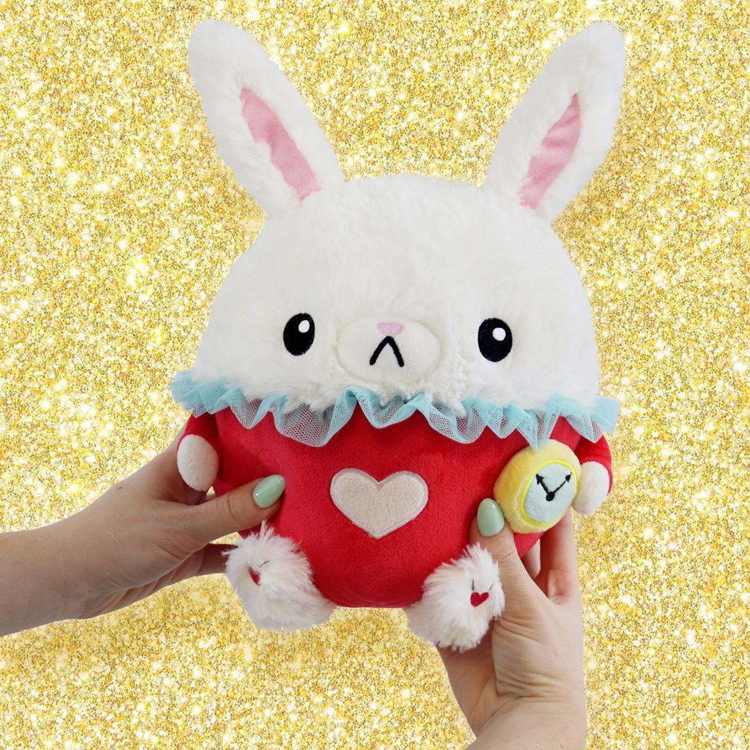 Peluche Chat Alice Au Pays Des Merveilles Mini Squishable White Rabbit Creatif Loisirs Creatifs Loisirs