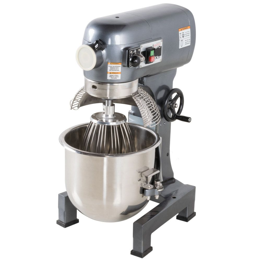 Avantco Mx20 20 Qt Planetary Stand Mixer With Guard Standard Accessories 120v 1 1 2 Hp In 2021 Planetary Mixer Stand Mixer Mixer