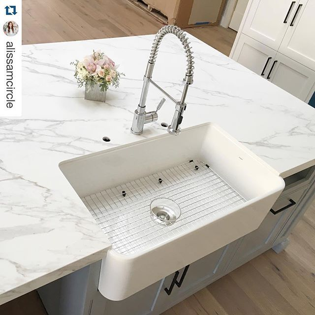 Sink With Countertop: Neolith #blancoamerica