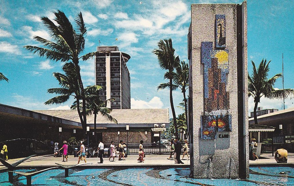 Ala Moana Shopping Center Stores In 1959 Google Search Vintage