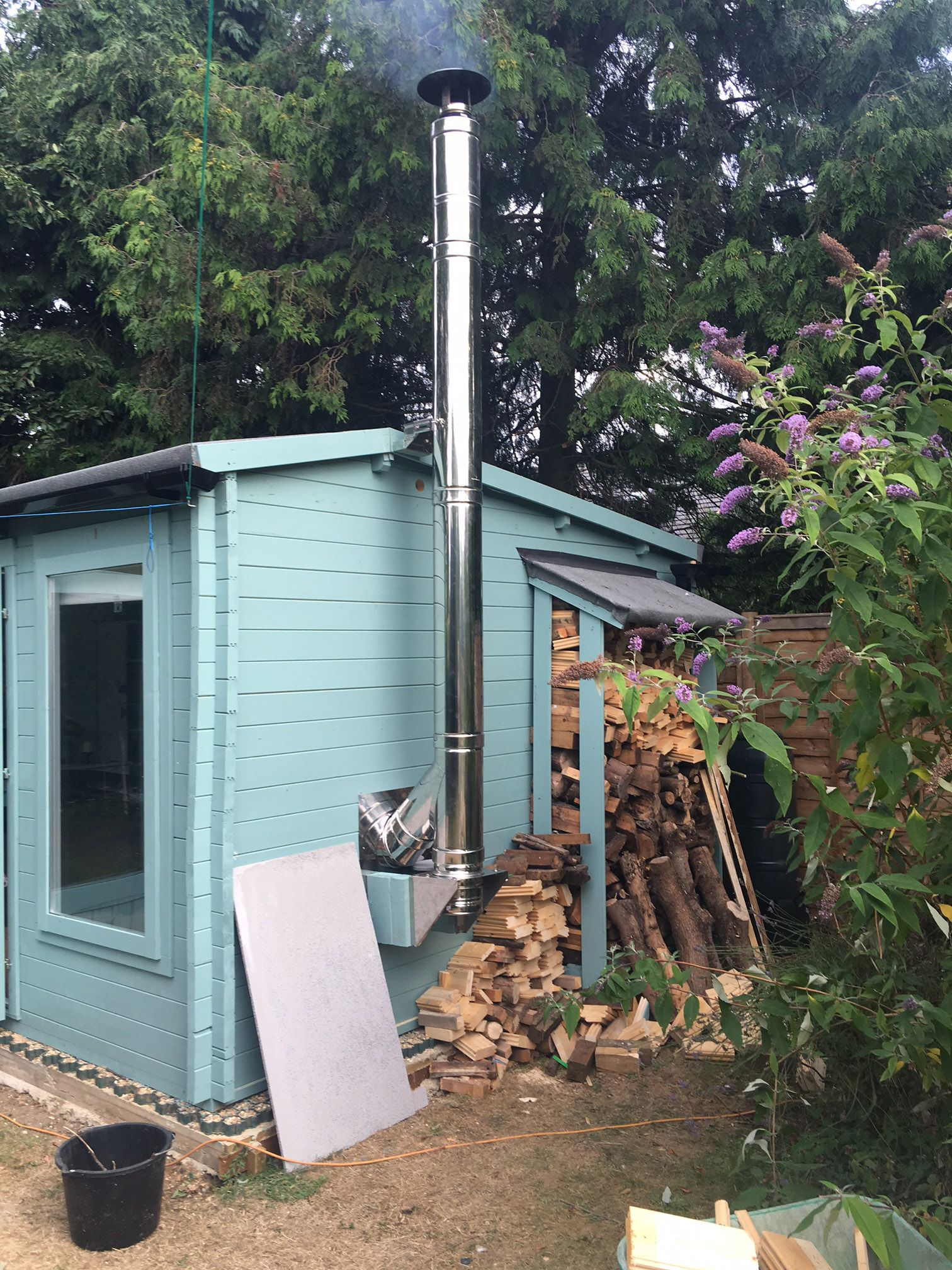building a garden office. \ Building A Garden Office F