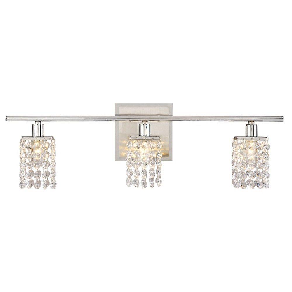 Diy Crystal Vanity Shades  Vanities Lights And Master Bedroom Fascinating Crystal Vanity Lights For Bathroom Inspiration