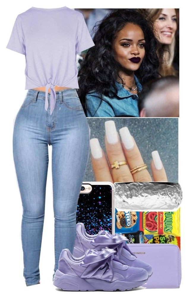 """"""" Tinashe - Just The Why I Like You"""" by jazzy-love1164 ❤ liked on Polyvore featuring MAC Cosmetics, Casetify, Coccinelle, Puma and Boohoo"""