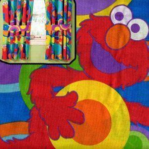 Sesame Street S Elmo Window Curtains Panels Drapes