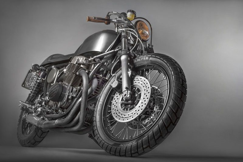 Incredible Cafe Racer Honda CB750 Pictures