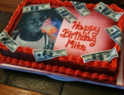 Swell Lil Wayne Bday Cake Cake New Cake Cake Central Personalised Birthday Cards Petedlily Jamesorg
