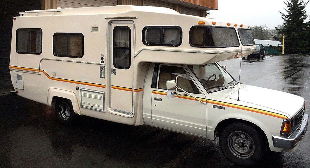 1984 Nissan Sunrader Class C Motorhome Rv Just Like The