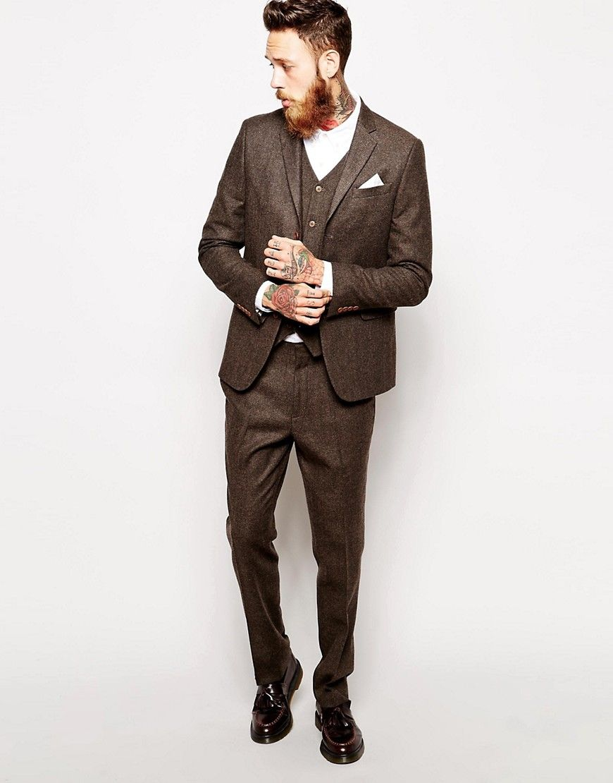 e1536c4293436 Here are 5 of the most dapper vintage looks for an Autumn groom and his men.