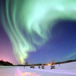 Foto Foto Pemandangan Alam Yang Spektakuler Dan Sangat Indah Pemandangan Cahaya Utara Alam