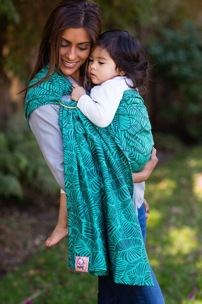 Baby Tula S Key West Lush Wrap Conversion Ring Sling Baby Carrier